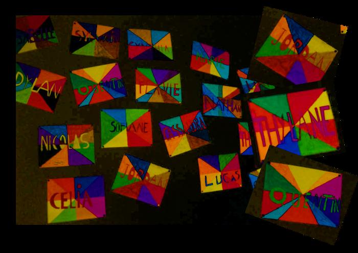 Souvent Arts visuels : le prénom des élèves » Ecole bilingue Saint GIlles UF12